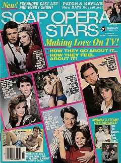 September 1988 issue of Soap Opera Stars magazine
