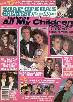 Soap Opera's Greatest Stories & Stars Sept. 1988