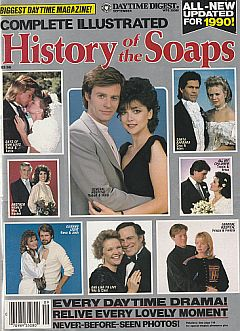 September 1990 issue of The Complete Illustrated History Of The Soaps magazine