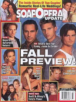 Soap Opera Update September 10, 2002