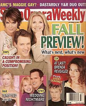 Soap Opera Weekly September 10, 2002