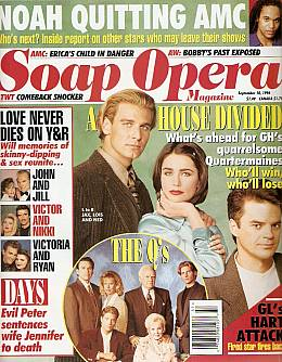 Soap Opera Magazine September 10, 1996