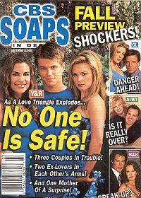 CBS Soaps In Depth September 11, 2001