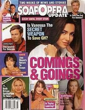 Soap Opera Update September 11, 2001