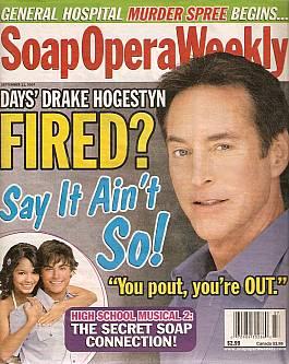 Soap Opera Weekly September 11, 2007