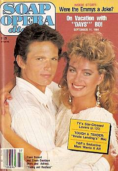 September 11, 1984 Soap Opera Digest