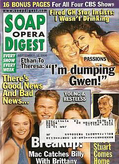 Soap Opera Digest - September 12, 2000