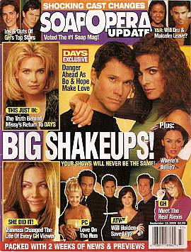 Soap Opera Update September 12, 2000