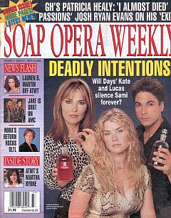 Soap Opera Weekly September 12, 2000