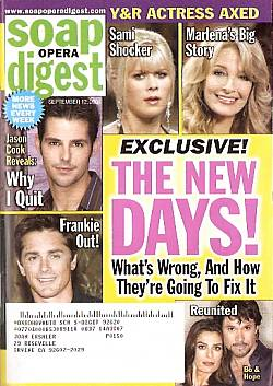 Soap Opera Digest Sept. 12, 2006