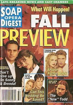 Soap Opera Digest - September 12, 1995