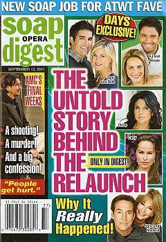 Soap Opera Digest September 13, 2011