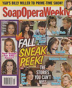 Soap Opera Weekly - September 13, 2011
