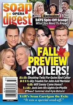 Soap Opera Digest September 13, 2021