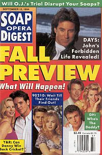 Soap Opera Digest - September 13, 1994