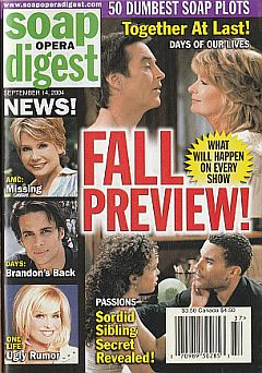 Soap Opera Digest Sept. 14, 2004