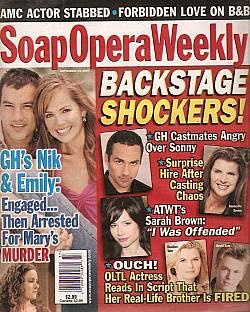 Soap Opera Weekly September 14, 2004