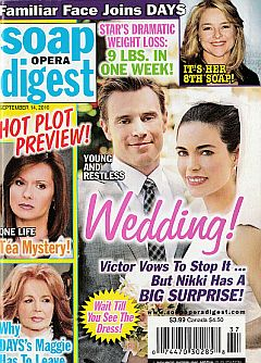 Soap Opera Digest September 14, 2010