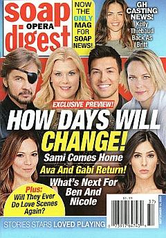 Soap Opera Digest September 14, 2020