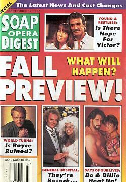September 14, 1993 Soap Opera Digest