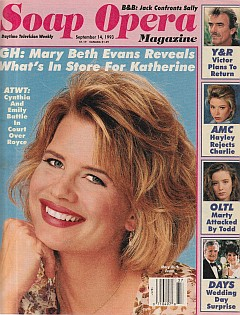 Soap Opera Magazine Sept. 14, 1993