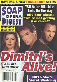 Soap Opera Digest - September 14, 1999