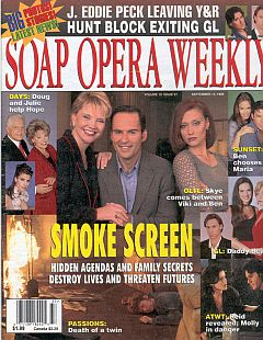 Soap Opera Weekly September 14, 1999