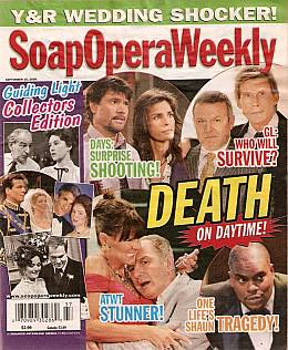 9-15-09 Soap Opera Weekly GUIDING LIGHT COLLECTORS EDITION
