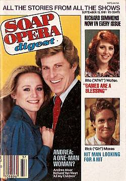 September 15, 1981 issue of Soap Opera Digest