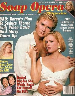 Soap Opera Magazine Sept. 15, 1992