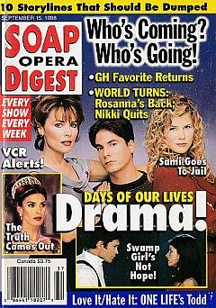 Soap Opera Digest - September 15, 1998