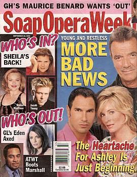 Soap Opera Weekly September 16, 2003