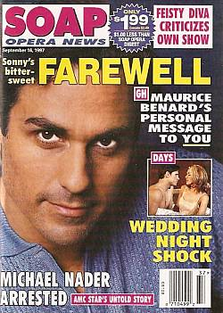Soap Opera News September 16, 1997