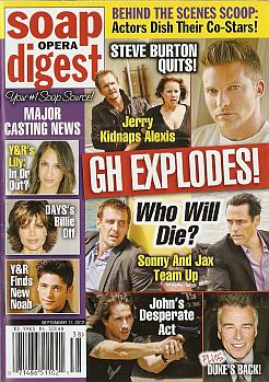 Soap Opera Digest September 17, 2012