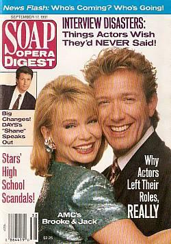 Soap Opera Digest September 17, 1991