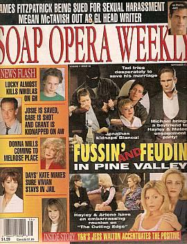Soap Opera Weekly September 17, 1996