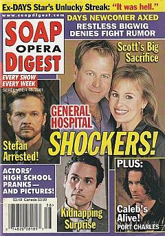 Soap Opera Digest Sept. 18, 2001