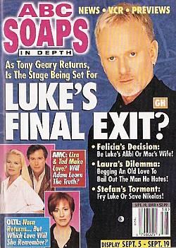 ABC Soaps In Depth September 19, 2000