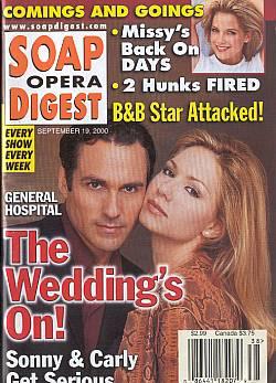 Soap Opera Digest - September 19, 2000