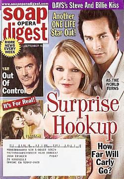 Soap Opera Digest Sept. 19, 2006