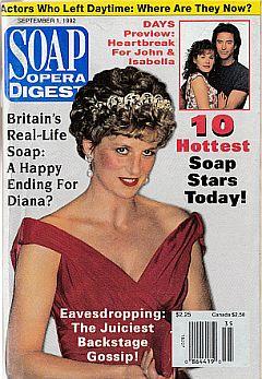 Soap Opera Digest September 1, 1992