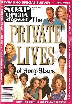 Soap Opera Digest September 19, 1989