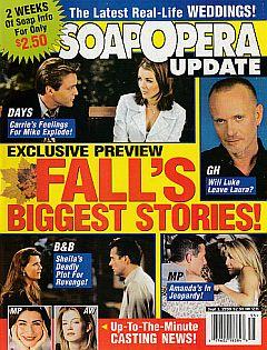 Soap Opera Update September 1, 1998