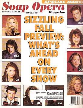 Soap Opera Magazine September 19, 1995