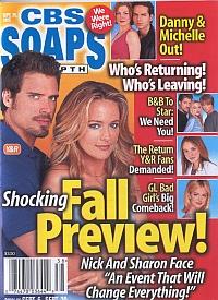 CBS Soaps In Depth September 20, 2005
