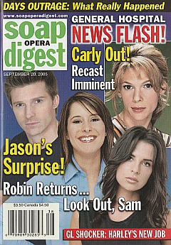 Soap Opera Digest Sept. 20, 2005