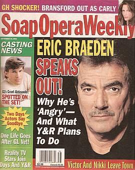 Soap Opera Weekly September 20, 2005