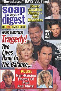 Soap Opera Digest Sept. 2, 2003
