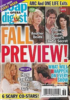 Soap Opera Digest September 2, 2008