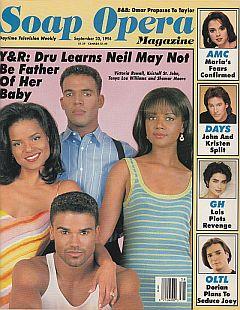 Soap Opera Magazine September 20, 1994